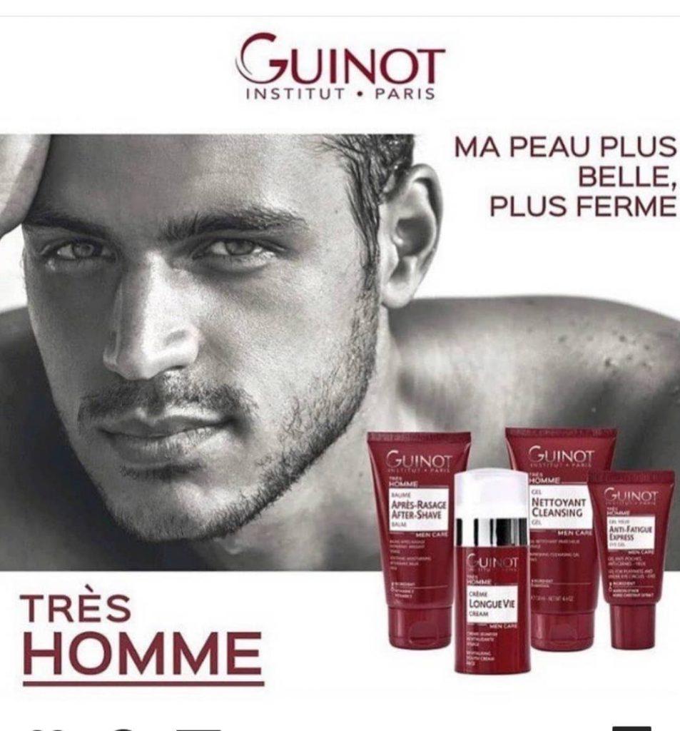 Мужская линия от Guinot