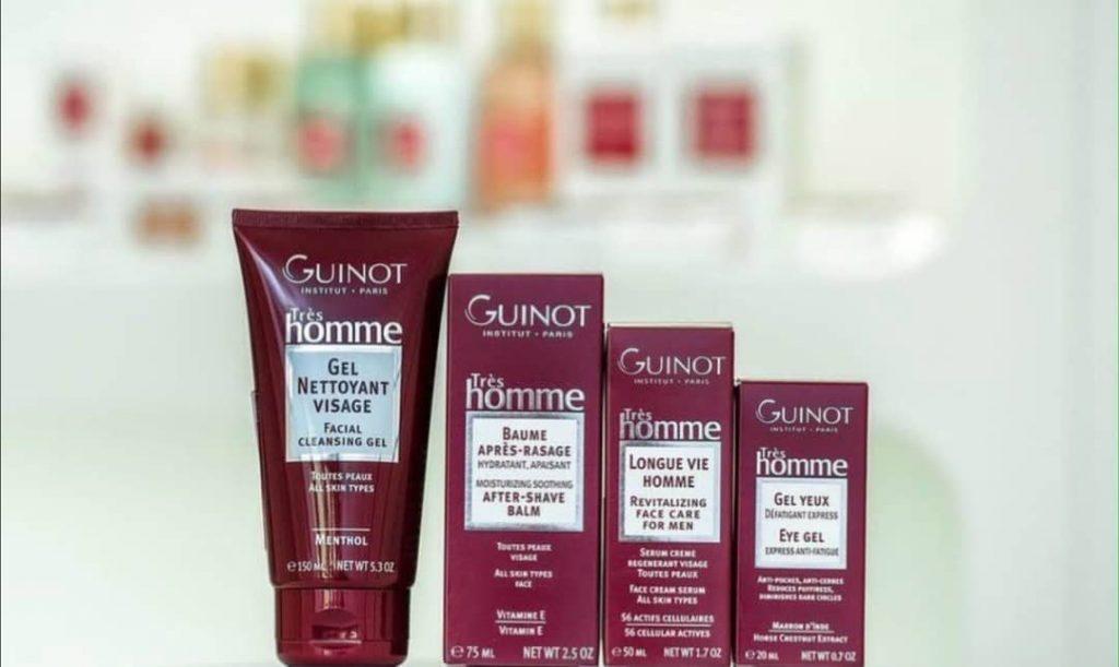 Линия Guinot для домашнего ухода за кожей лица